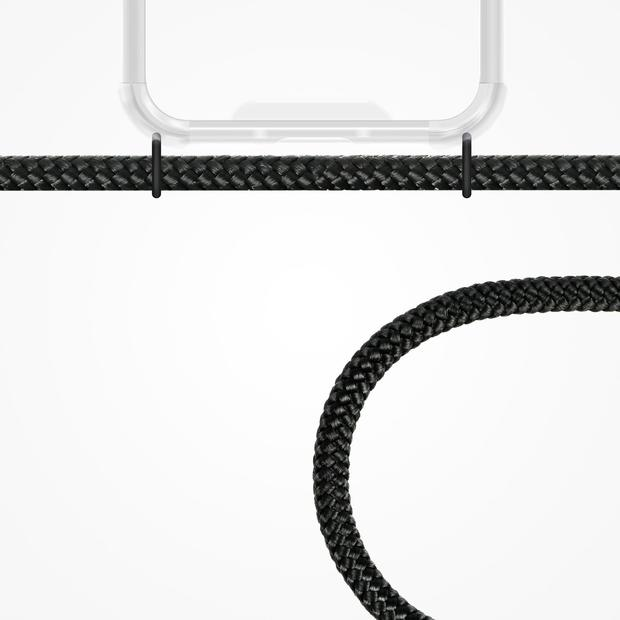 ZhinkArts Phone Necklace / Handykette - All Black