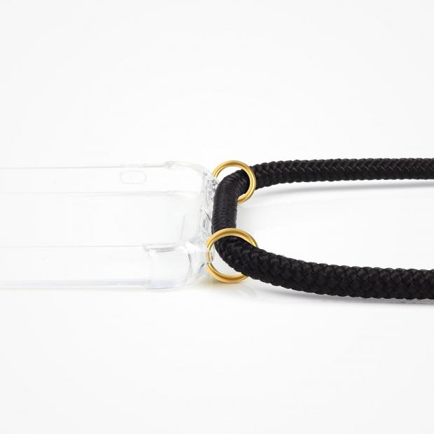 ZhinkArts Phone Necklace / Handykette - Black Gold