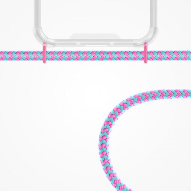 ZhinkArts Phone Necklace / Handykette - Bubble Gum