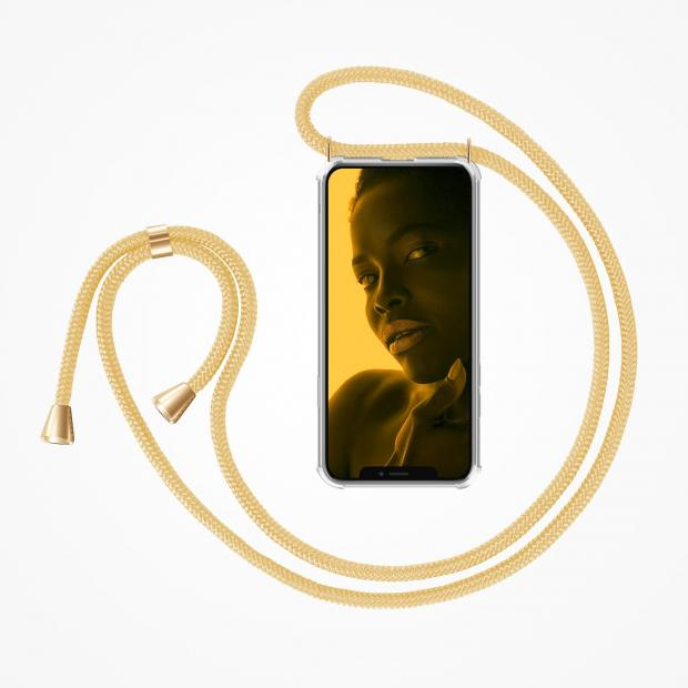 ZhinkArts Phone Necklace / Handykette - Gold